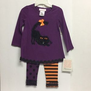 Halloween Dress & Leggings Set 24 Months NEW